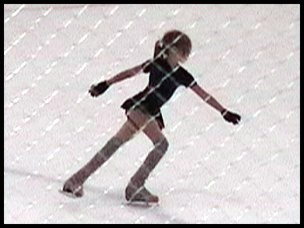 AVI Video of Emily Butler's first skating routine, Aug. 1, 2008